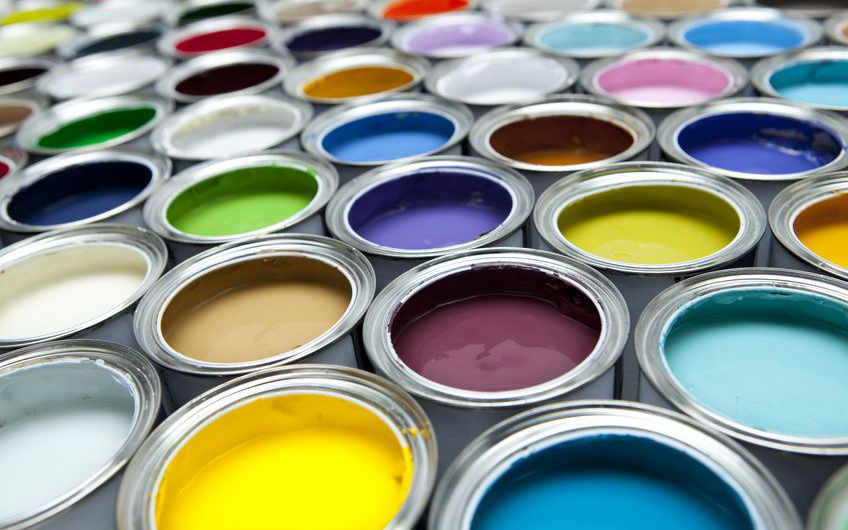 Scenic paint for scenic artists